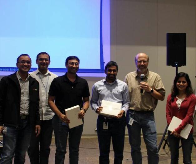 eBay Engineering Hackathon Winners First Prize.